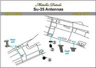 Sukhoi Su-35 Antennas #MDMDR4842