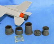 Lockheed-Martin F-16C Jet nozzle for engine F100-PW #MDMDR4860