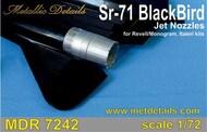 Lockheed SR-71 Blackbird jet nozzles #MDMDR7242
