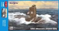 Micro-Mir  1/350 USS Albacore (AGSS-569) MM350-36