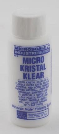 Microscale Liquids  No Scale Micro Kristal Klear 1oz Bottle MSI9