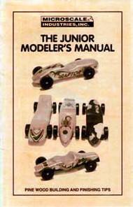 Microscale Liquids   Pinewood Racer Junior Modeler's Manual (D)<!-- _Disc_ --> MSIL5