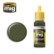 MIG Productions  MIG Acrylic Paint RAL 6003 OLIVGRUN OPT.2 MIG0002