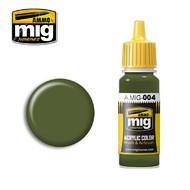 MIG Productions  MIG Acrylic Paint RAL 6011 B RESEDAGRUN MIG0004