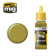 MIG Productions  MIG Acrylic Paint RAL 7028 Dunkelgelb (Mid War) MIG0010