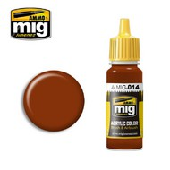 MIG Productions  MIG Acrylic Paint RAL 8012 ROTBRAUN MIG0014