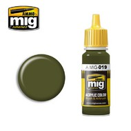 MIG Productions  MIG Acrylic Paint 4BO RUSSIAN GREEN MIG0019