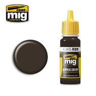 MIG Productions  MIG Acrylic Paint 6K RUSSIAN BROWN MIG0020