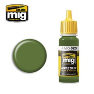 MIG Productions  MIG Acrylic Paint PROTECTIVE GREEN MIG0023