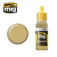 MIG Productions  MIG Acrylic Paint RAL8031 F9 GERMAN SAND BEIGE MIG0027
