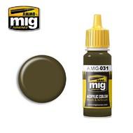 MIG Productions  MIG Acrylic Paint SPANISH GREEN-KHAKI MIG0031