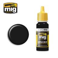 MIG Productions  MIG Acrylic Paint SATIN BLACK MIG0032