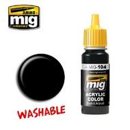 MIG Productions  MIG Wash Washable Black MIG0104