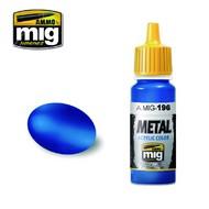 MIG Productions  MIG Acrylic Paint Warhead Metallic Blue MIG0196