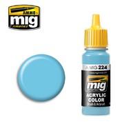 Ammo by Mig Jimenez  MIG Acrylic Paint FS35250 SKY LINE BLUE A II AMM0224
