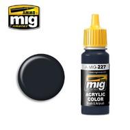 Ammo by Mig Jimenez  MIG Acrylic Paint FS 25042 SEA BLUE (ANA 606) AMM0227