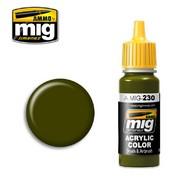 Ammo by Mig Jimenez  MIG Acrylic Paint RLM 82 CAMO GREEN AMM0230