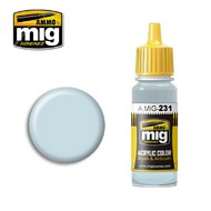 Ammo by Mig Jimenez  MIG Acrylic Paint RLM 65 HELLBLAU AMM0231