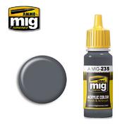 MIG Productions  MIG Acrylic Paint FS36152 DARK GREY AMT-12 MIG0235
