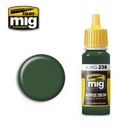 MIG Productions  MIG Acrylic Paint FS 34092 MEDIUM GREEN MIG0238