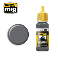 MIG Productions  MIG Acrylic Paint FS 36122 NEUTRAL GRAY MIG0239