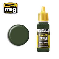 MIG Productions  MIG Acrylic Paint RLM 80 OLIVGRUN MIG0248