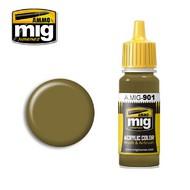 MIG Productions  MIG Acrylic Paint DUNKELGELB DARK BASE MIG0901