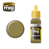 MIG Productions  MIG Acrylic Paint DUNKELGELB BASE MIG0902