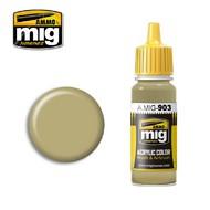 MIG Productions  MIG Acrylic Paint DUNKELGELB Light BASE MIG0903