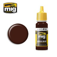 MIG Productions  MIG Acrylic Paint RED BROWN SHADOW MIG0912