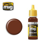 MIG Productions  MIG Acrylic Paint RED BROWN BASE MIG0913