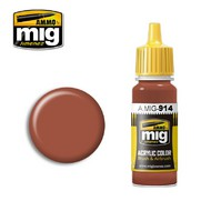 MIG Productions  MIG Acrylic Paint RED BROWN LIGHT MIG0914