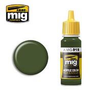 MIG Productions  MIG Acrylic Paint DARK GREEN MIG0915