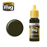 MIG Productions  MIG Acrylic Paint OLIVE DRAB SHADOW MIG0924