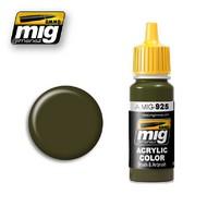 MIG Productions  MIG Acrylic Paint OLIVE DRAB  DARK BASE MIG0925