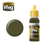 MIG Productions  MIG Acrylic Paint OLIVE DRAB  BASE MIG0926