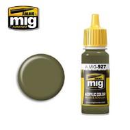 MIG Productions  MIG Acrylic Paint OLIVE DRAB  Light BASE MIG0927