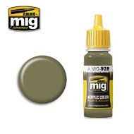 MIG Productions  MIG Acrylic Paint OLIVE DRAB  HIGH LIGHTS MIG0928