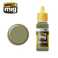MIG Productions  MIG Acrylic Paint OLIVE DRAB  SHINE MIG0929
