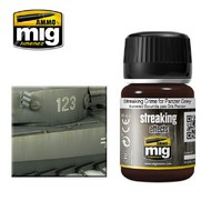 Ammo by Mig Jimenez  MIG Grime STREAKING GRIME FOR PANZER GREY AMM1202