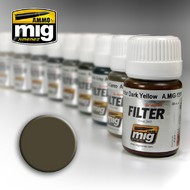 MIG Productions  MIG Filters DARK Grey FOR WHITE MIG1502
