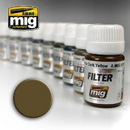 MIG Productions  MIG Filters Brown for Desert Yellow MIG1504