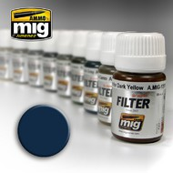 MIG Productions  MIG Filters Blue for Dark Grey MIG1509