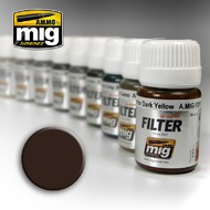 MIG Productions  MIG Filters Brown for Dark Yellow MIG1511