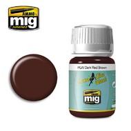 MIG Productions  MIG Panel Wash PLW DARK RED BROWN MIG1605