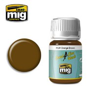 MIG Productions  MIG Panel Wash PLW ORANGE BROWN MIG1616