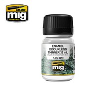 MIG Productions  Thinner ENAMEL OUDERLESS THINNER 35 ML MIG2018