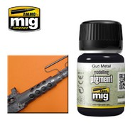 MIG Productions  MIG Pigments Gun Metal MIG3009