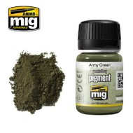MIG Productions  MIG Pigments ARMY GREEN MIG3019