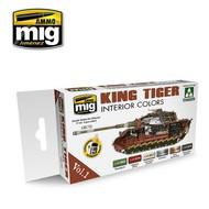 Kingtiger Interior Color (Special Takom Edition) Vol.1 #MIG7165